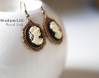The Baroque Lady Earrings