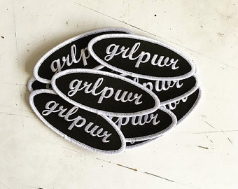 grlpwr girl power patches