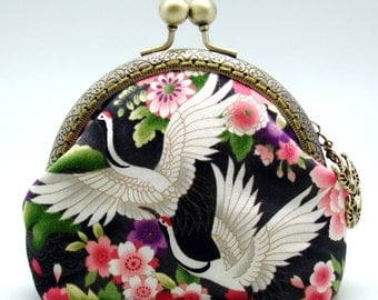 Crane - Small clutch / Coin purse (S-290) R1