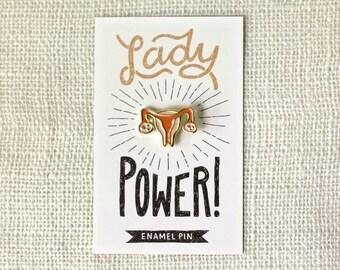 Enamel Pin - Lady Power