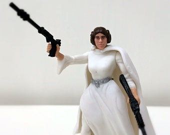 Star Wars Carrie Fisher Princess Leia Doll, Rogue One, A New Hope, Star Wars Blaster, Princess Leia Toy, Vintage Star Wars Toy Action Figure