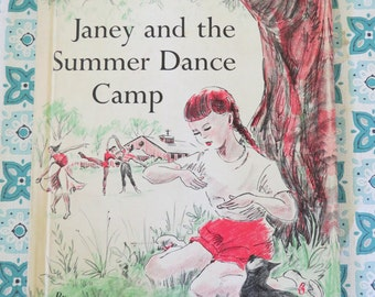 FUN Vintage 1956 Janney and teh Summer Dance Camp