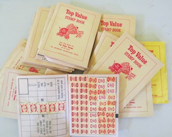 BIG Lot of Vintage Trading Stamps Booklets FUN