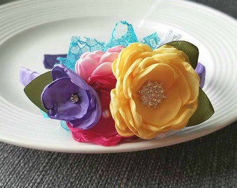 Bright Bouquet headband