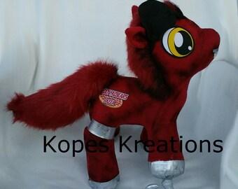 MLP My Little Pony Foxy FNAF Plushie