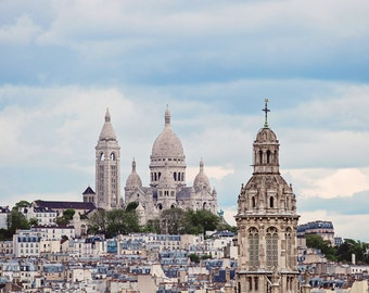 Paris Fine Art Travel Photography, Paris Decor, Wanderlust Art, Paris Rooftops, Paris Apartment Home Decor Paris Wall Art - From the Rooftop
