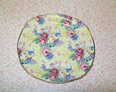 SALE - Royal Winton Welbeck Chintz Saucer, 1995, Grimwades, made in England