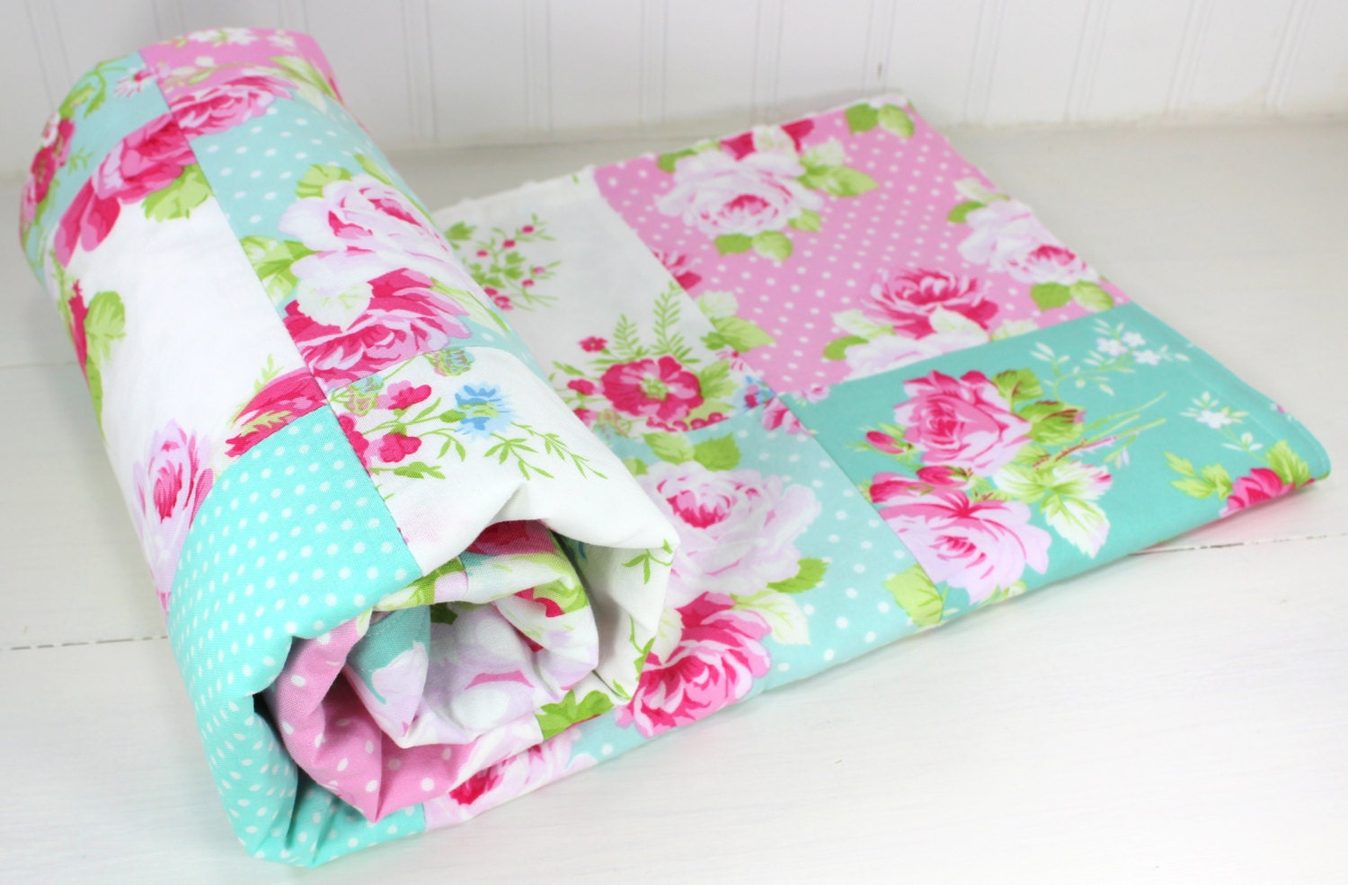 Baby Blanket Patchwork Blanket Girl Blanket Nursery
