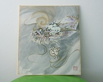 Dragon Picture Exotic Japanese Home Decor Handpainted