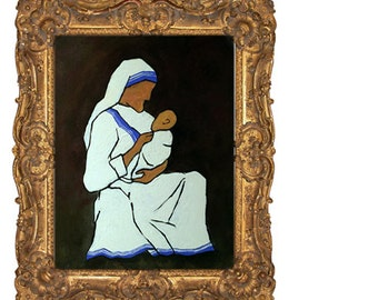 Mother Teresa Original Painting