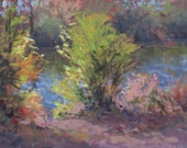River Candy 9x12 Pastel