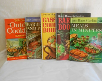 Cook Book Better Homes and Gardens set of 5