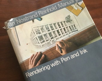 manual of rendering with pen and ink