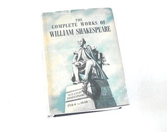 The Complete Works of William Shakespeare,William Shakespeare,Shakespearian Book,Shakespeare Plays,King Lear,Romeo & Juliet,Macbeth