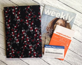 Weight Watchers 2017 SmartPoints Program Organizer for Weekly Handouts ~ Weigh In Journal ~ Monthly Pass Holder & More ~ 48 Fabrics.
