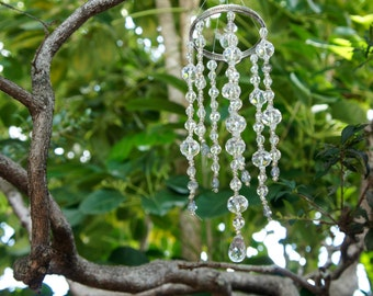 Create your Wind chimes, Spring Decor, Glass Windchimes, Crystal Windchimes, Match your Home Decor, Designer Windchimes, Custom Windchimes