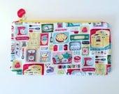 Knitting Needle case / Clutch bag