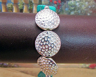Turquoise and Silver Bracelet – BR14 -