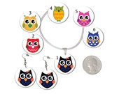 Choice Owls Earrings or Necklace