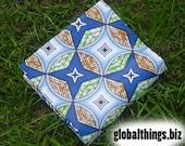West African Wax Cotton Print Fabric - African Ankara Fabric - Shuriken