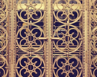 "Architecture Door Photography. ""Ornate Door"" St. Louis Central Public Library Photograph. Fine Art Print Wall Art. 8x10, 11x14, 16x20, 20x24"