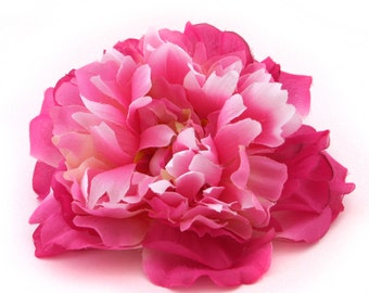 Two-Tone Pink Peony - Artificial Flower - Silk Flower Heads