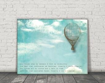 Quote / Poem / Breathe / DIGITAL Typography Poster / Printable