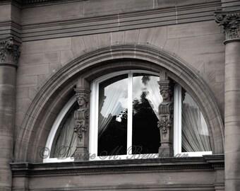 Rustic Scottish Photos - Edinburgh Scotland Window Photos - Scottish Architectural Details - Rustic Window Photos