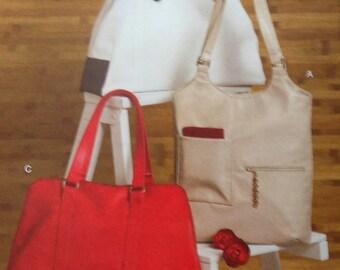 Handbags Sewing Pattern UNCUT Vogue V8406 handbag purse bag