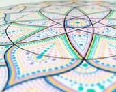 Instant Download Printable Art. Dot Mandala.