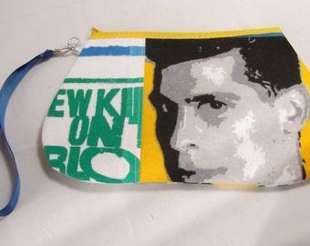 New Kids on the Block Wristlet / Pouch -- Handmade NKOTB....   Danny