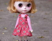 Blythe Overall Cotton candy Dresse