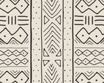 IKEA Antilop Highchair Cover // Bone Mudcloth  // High Chair Cover for the PYTTIG Cushion // Pillow Slipcover