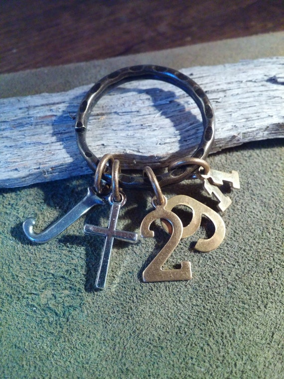 CHRISTIAN KEYRING, Scripture Keyring, Jeremiah 29:11-For I know the plans I have for you, plans for hope and a future, plans to prosper you