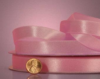 1/4 Satin Ribbon - Pink