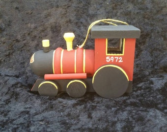 harry potter inspired ornament, Hogwarts Express train, baby's first Christmas