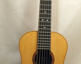 Parlor Guitar - Walnut, or Curly Maple