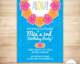 summer party invites templates