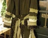 Cheetah Girl-Upcycled-Sweater-Coat