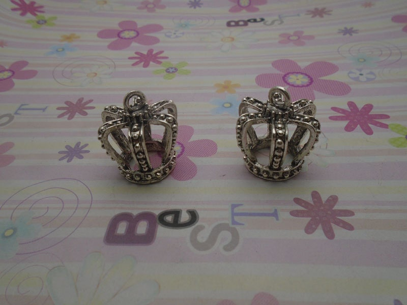 20x Tibetan Silver Charms Pendant Wings Connectors DIY Jewelry Accessories //488F