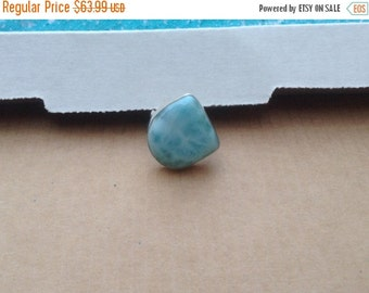ON SALE Larimar Jewelry Larimar Ring Size 7 3/4 Sterling Silver 925 Summer Fashion jewelry