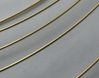 14kt gold fill round wire, by the foot, yellow gold fill, jewelry supplies, wire wrap, stacking rings