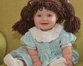 Cabbage Patch Kids Inspired Hat / Wig - Available in 7 sizes