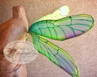 Dragonfly Fairy Wings Fantasy Faery Wings for Bridal Wedding Cosplay Convention LARP Halloween Costume Fair Faire Festival
