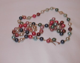 Necklace, Tammey Jewels, Pearl Necklace