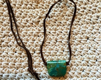 N153 Turquoise and Suede #2
