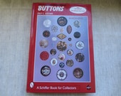 Beautiful hard cover Button Book. Lot of 1 book.