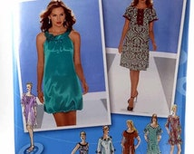 BLACK FRIDAY/CYBER Monday Simplicity 3529, Misses' Pullover Dress Pattern, Project Runway, Sizes 4 to 12, Uncut