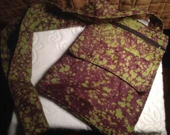 Handmade Tye Dye Shoulder Bag GREAT for your next festival