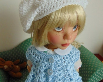 "Vest Pattern to Crochet for 18"" Dolls such as American Girl Doll and Trinket Box Kids Mazey"
